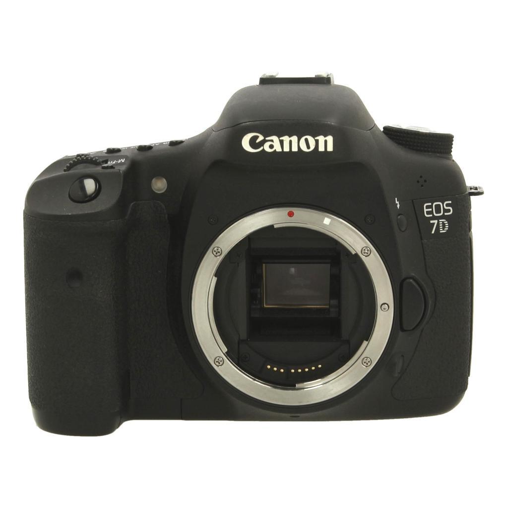 Canon EOS 7D Schwarz gut