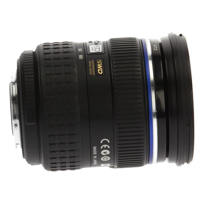 Olympus Zuiko 12-60mm f2.8-4.0 SWD ED Objektiv Schwarz wie neu