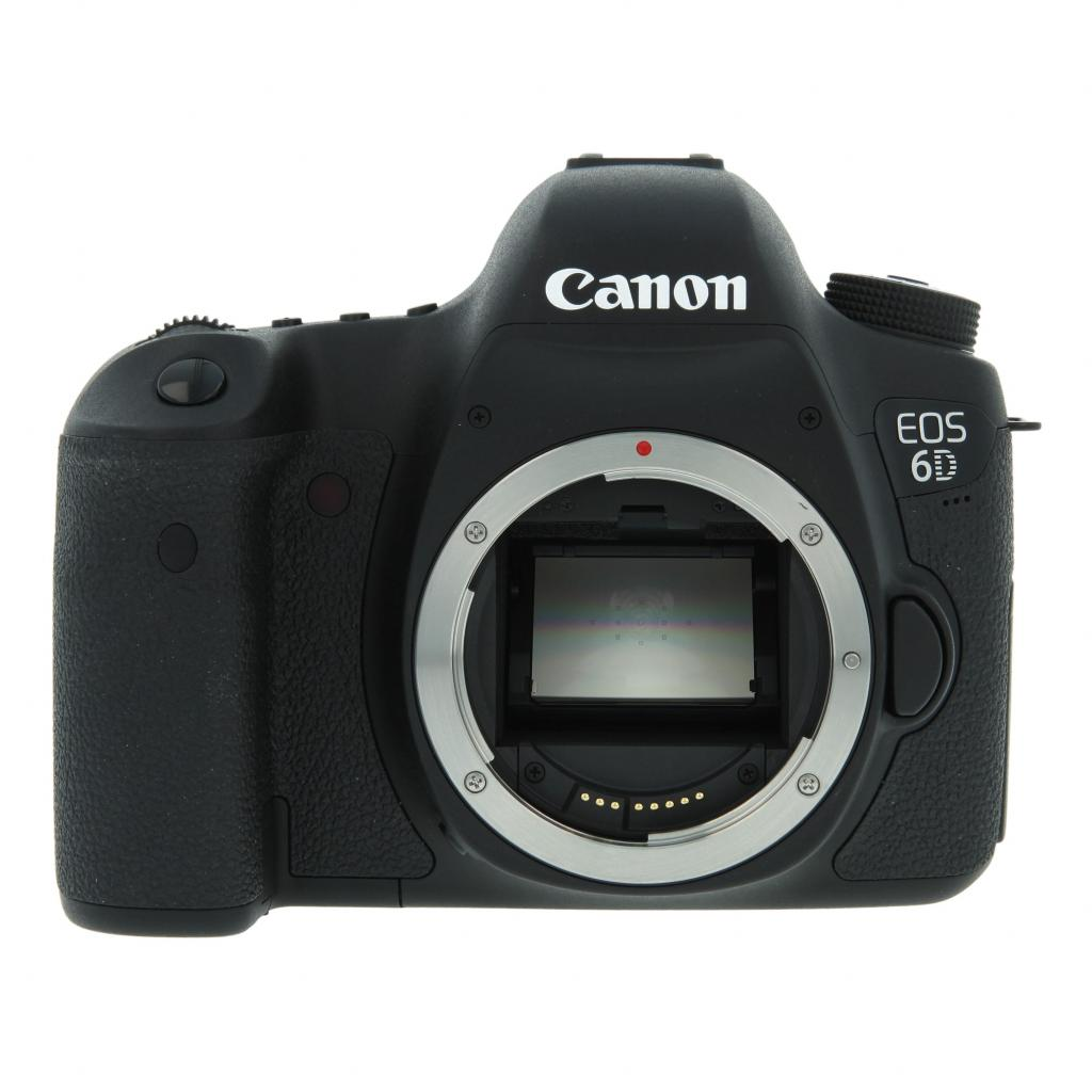 Canon EOS 6D Schwarz gut