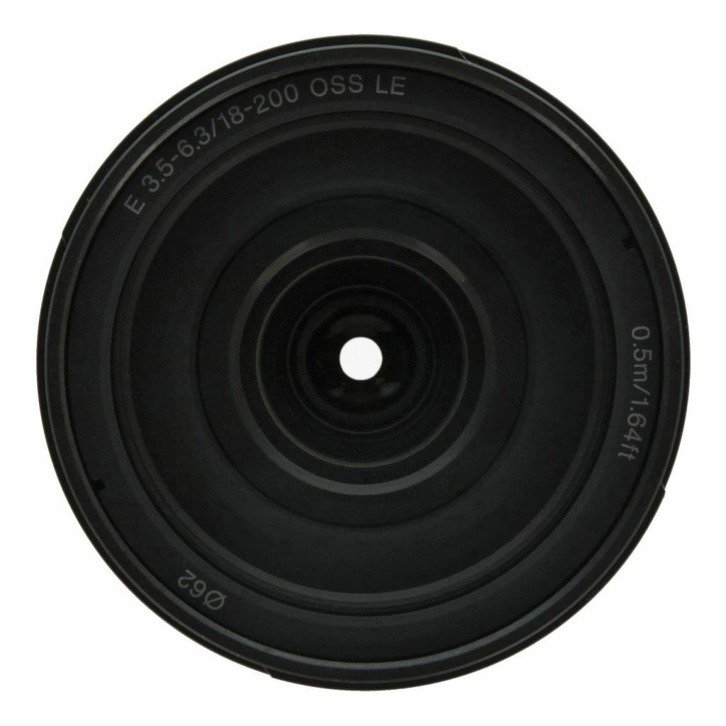 Sony 18-200mm 1:3.5-6.3 AF E OSS LE (SEL18200LE) schwarz sehr gut