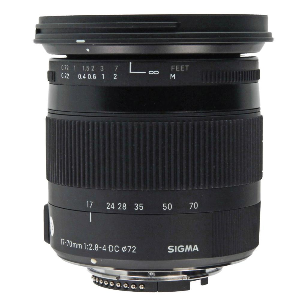 Sigma 17-70mm 1:2.8-4 DC OS HSM Macro Contemporary für Nikon Schwarz gut