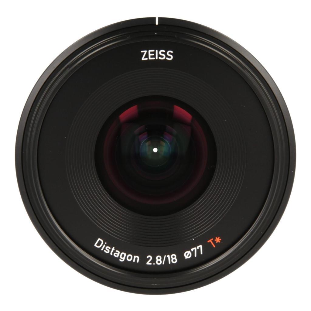 Zeiss Batis 2.8/18 mit Sony E Mount Schwarz wie neu