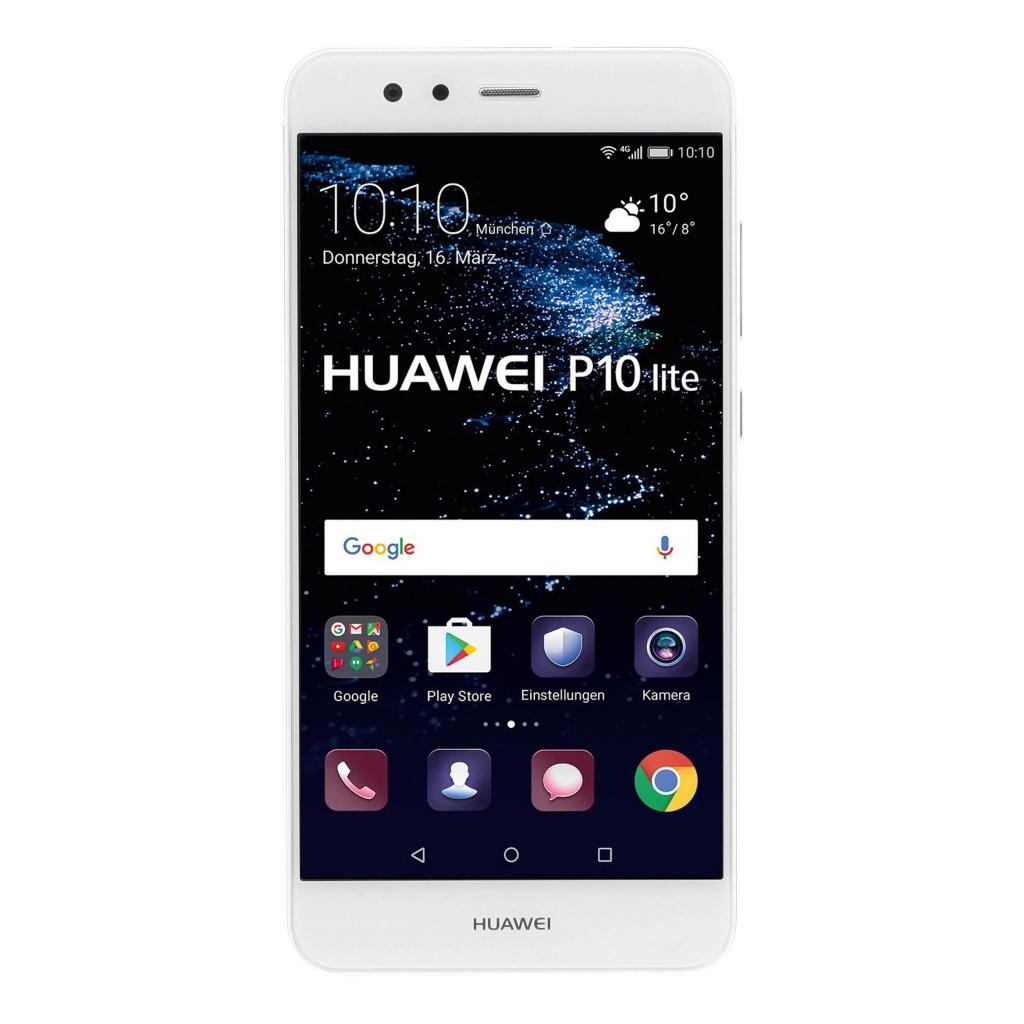 Huawei P10 lite Single-Sim (4GB) 32 GB weiß gut