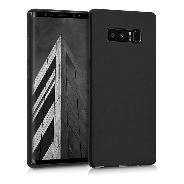 kwmobile Soft Case für Samsung Galaxy Note 8 (42614.47) schwarz matt sehr gut