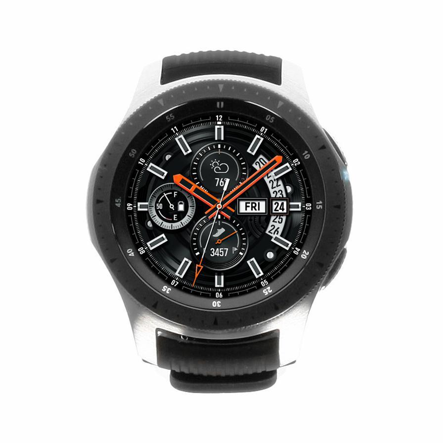 Samsung Galaxy Watch 46mm LTE (SM-R805) silber sehr gut