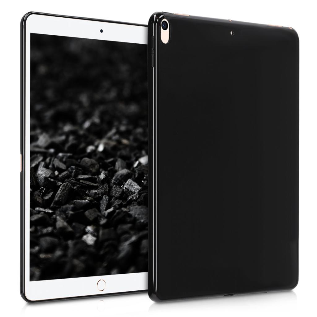 """kwmobile Soft Case für Apple iPad Pro 2017 10,5"""" / iPad Air 3 2019 10,5"""" (48338.47) schwarz matt gut"""