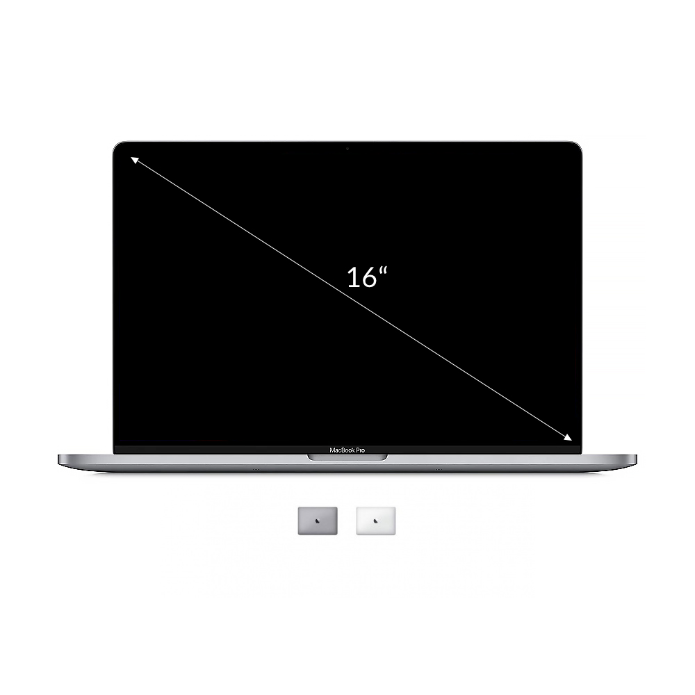 "Apple MacBook Pro 2019 16"" QWERTZ ALEMÁN Intel Core i7 2,60 GHz 512 GB SSD 16 GB plateado buen estado"