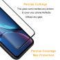 asgoodasnew Glas Folie 3D für Apple iPhone 6 / 6S *ID17118 schwarz