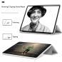 """Flip Cover pour Apple iPad Pro 2020 12,9"""" -ID17984 noir/transparent"""