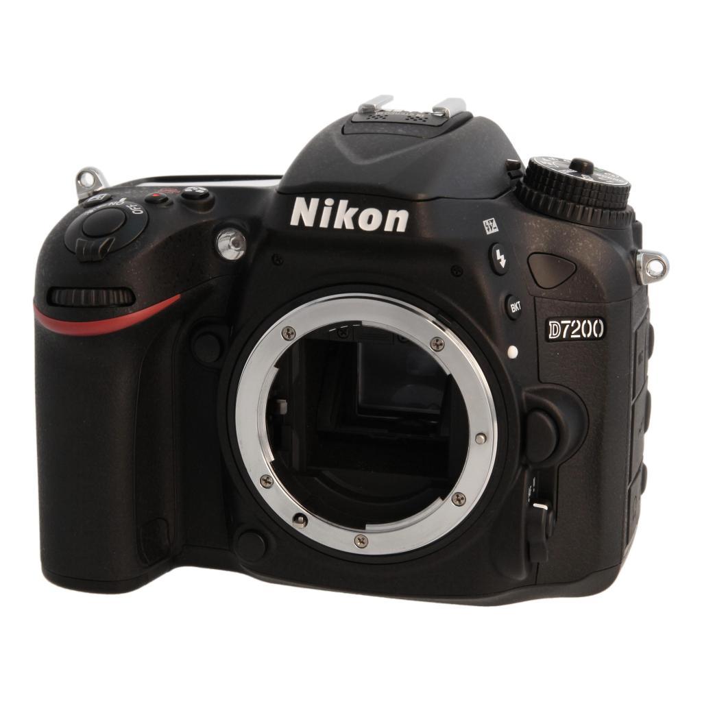 Nikon D7200 Schwarz