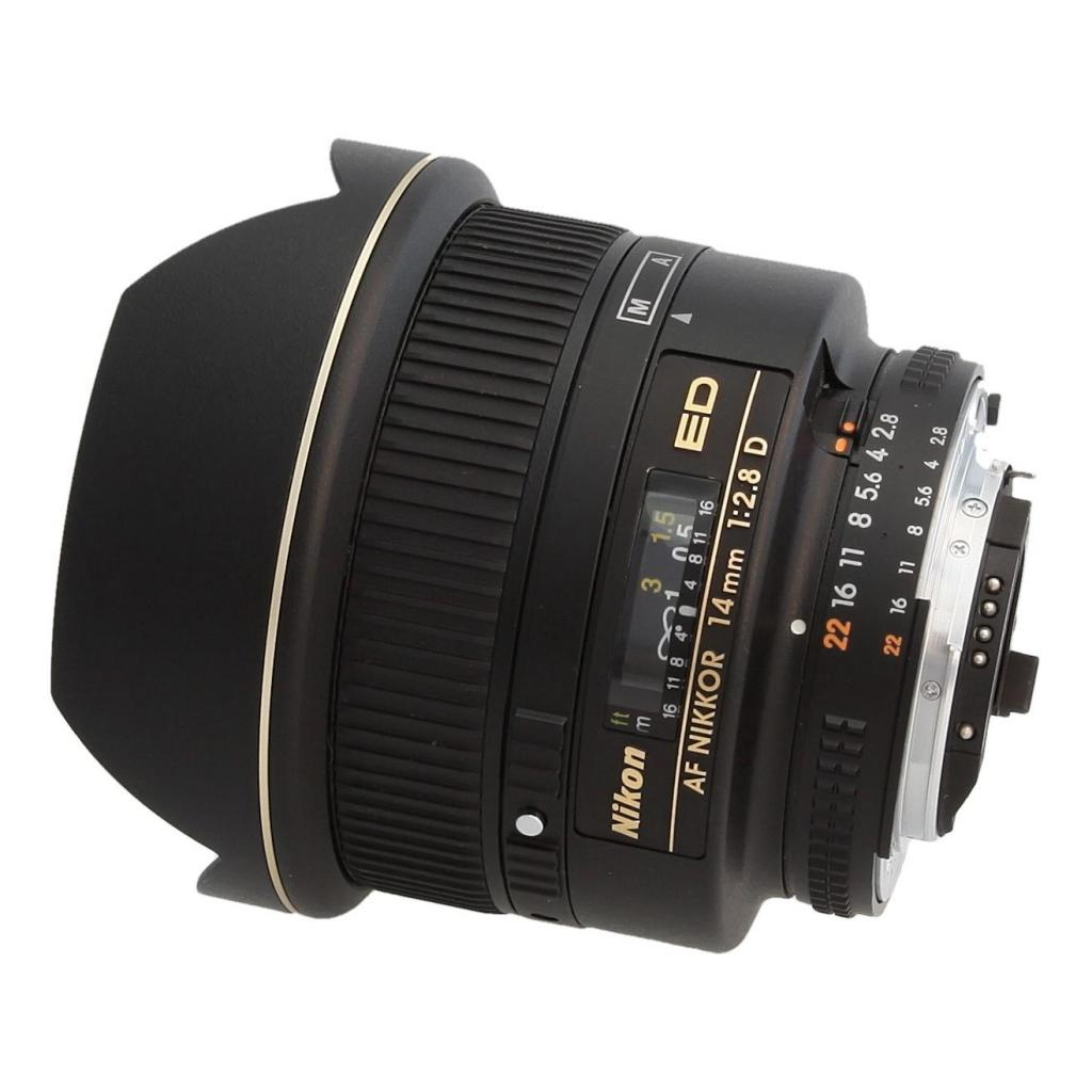 Nikon 14mm 1:2.8 AF D ED - schwarz