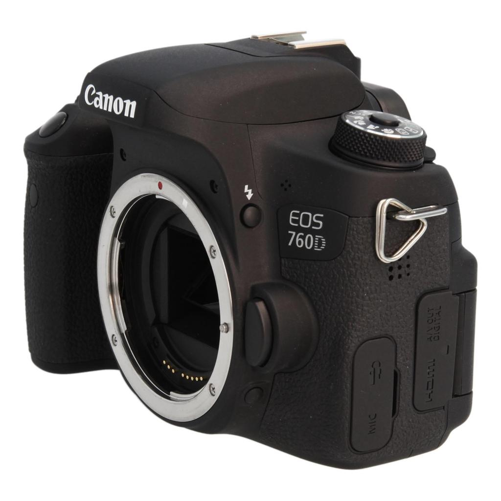 Canon EOS 760D Schwarz