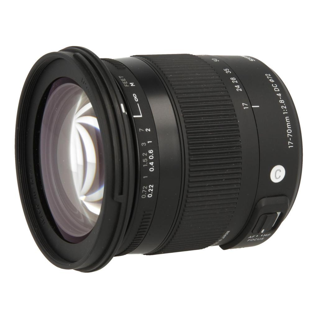 Sigma 17-70mm 1:2.8-4 DC HSM Macro Contemporary für Sony / Minolta Schwarz