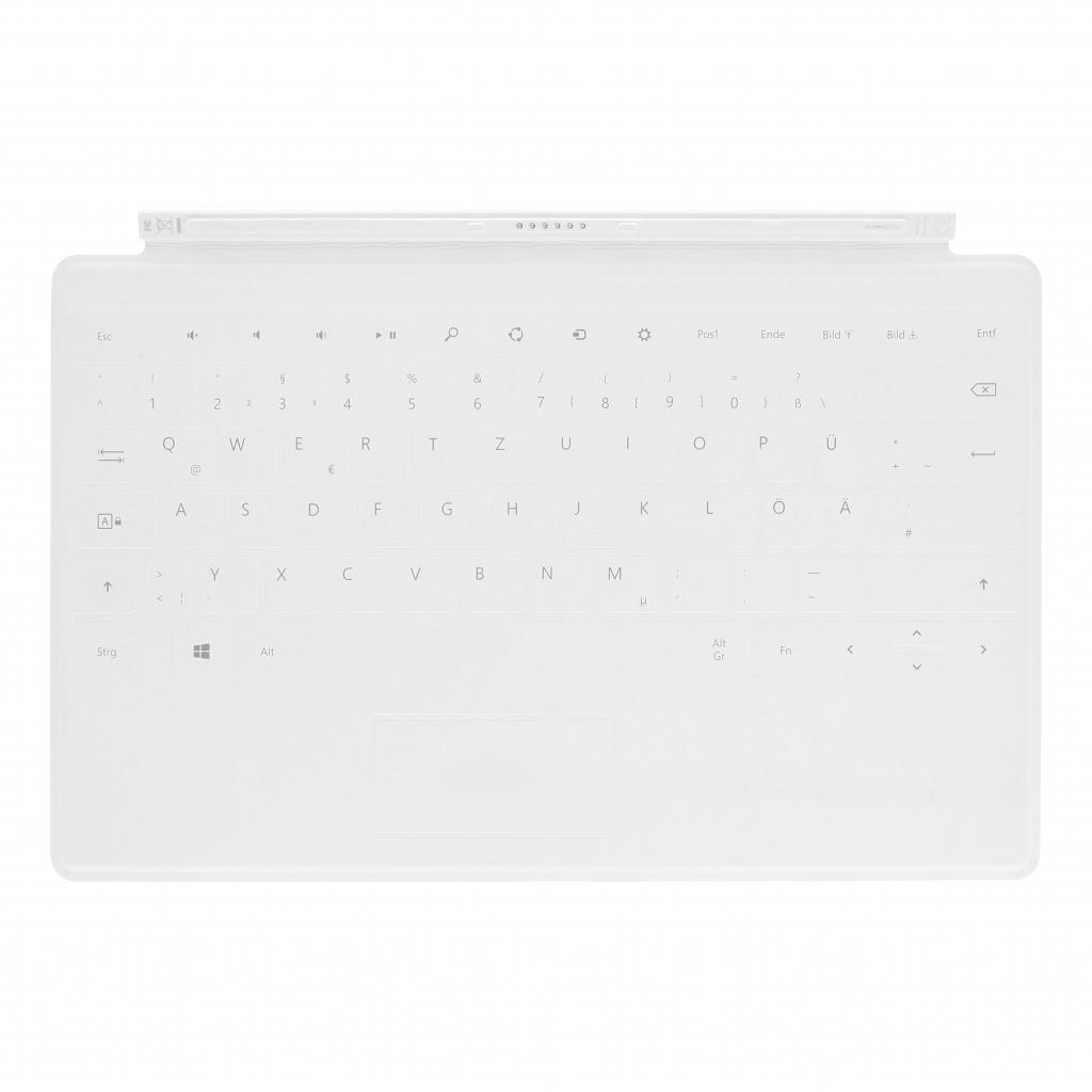Microsoft Surface Touch Cover Weiss - QWERTZ