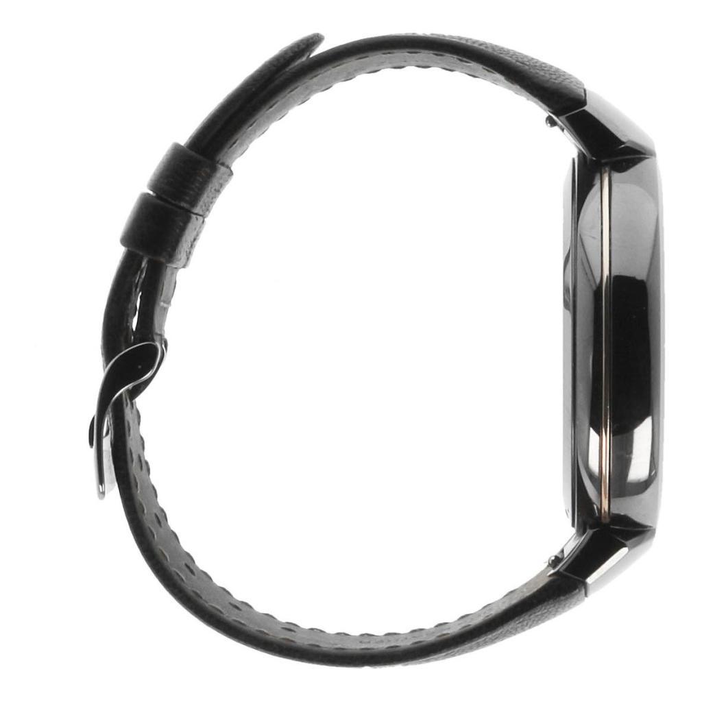 Asus ZenWatch 3 dunkelgrau mit Sportarmband dunkelbraun dunkelgrau