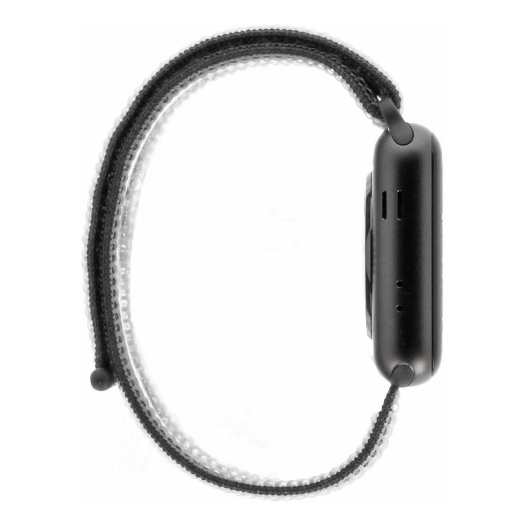 Apple Watch Series 3 Aluminiumgehäuse grau 42mm mit Sport Loop olivgrün (GPS + Cellular) aluminium grau