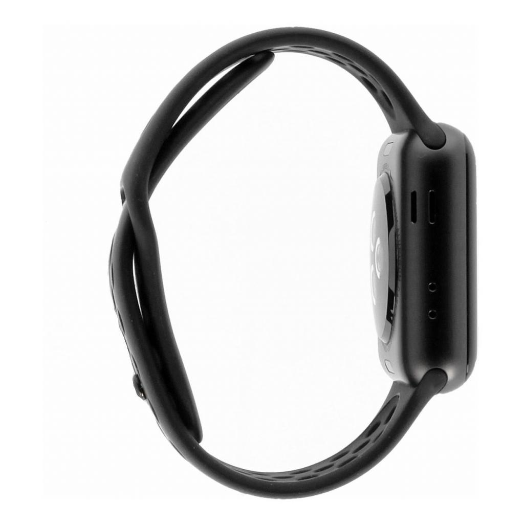 Apple Watch Series 3 Aluminiumgehäuse grau 38mm mit Nike Sportarmband anthrazit/schwarz (GPS + Cellular) aluminium spacegrau