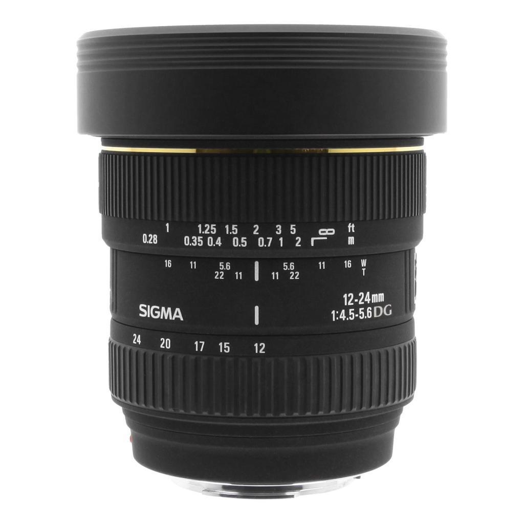 Sigma 12-24mm 1:4.5-5.6 AF EX DG Asp IF für Sony A schwarz