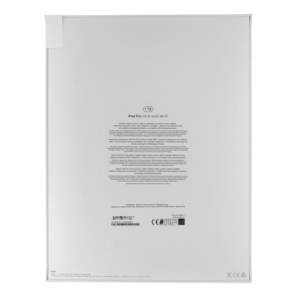 "Apple iPad Pro 12,9"" (A1876) 2018 1TB spacegrau"