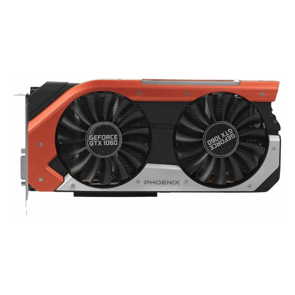 Gainward GeForce GTX 1060 Phoenix (3729) negro