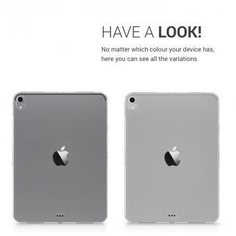 """kwmobile Soft Case für Apple iPad Pro 11"""" (2018) (46760.03) durchsichtig"""