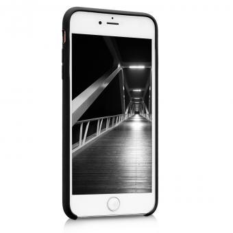 kwmobile Soft Case für Apple iPhone 6 Plus / 6S Plus (40841.47) schwarz matt