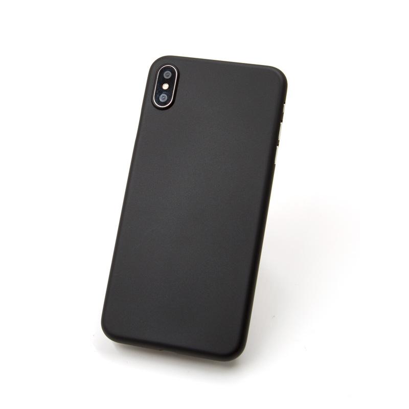 Hard Case für Apple iPhone XS -ID17009 schwarz