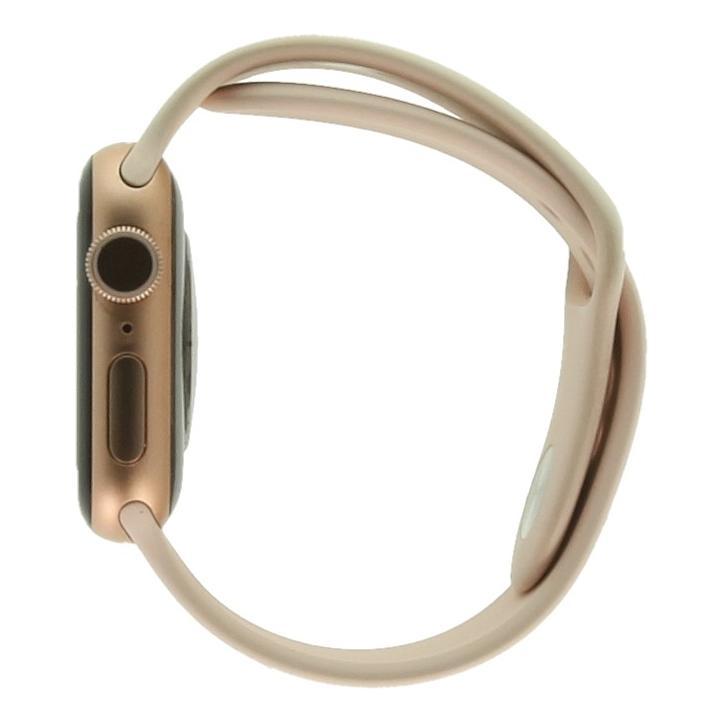 Apple Watch Series 5 Aluminiumgehäuse gold 40mm mit Sportarmband sandrosa (GPS) gold