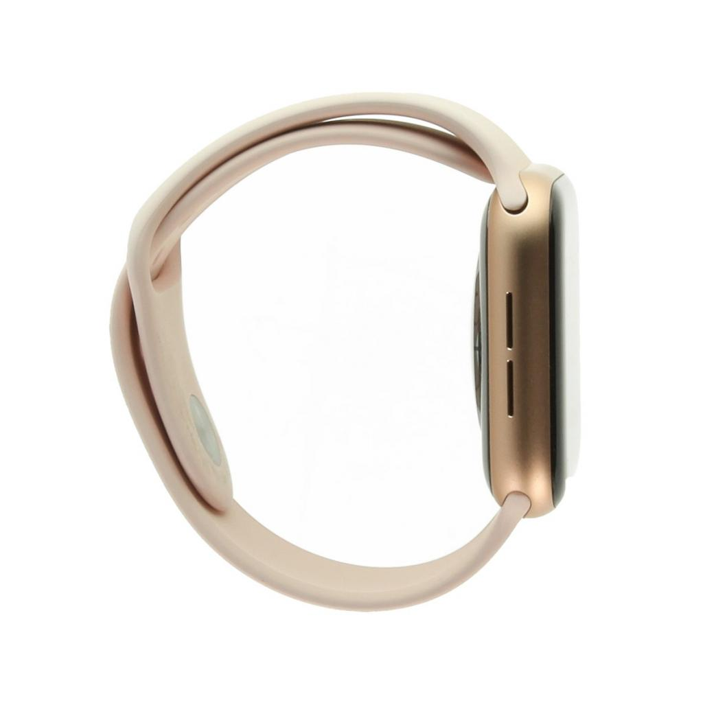 Apple Watch Series 5 Aluminiumgehäuse gold 44mm mit Sportarmband sandrosa (GPS+Cellular)