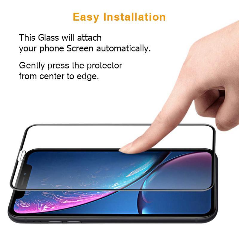 Ultra Panzerglas für Apple iPhone 6 / 6S -ID17118 schwarz