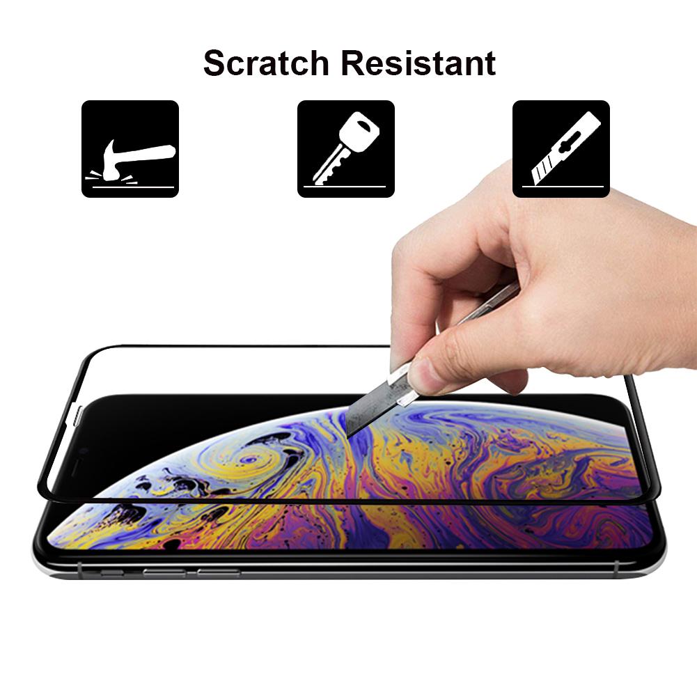 Ultra Panzerglas für Apple iPhone XR -ID17126 schwarz