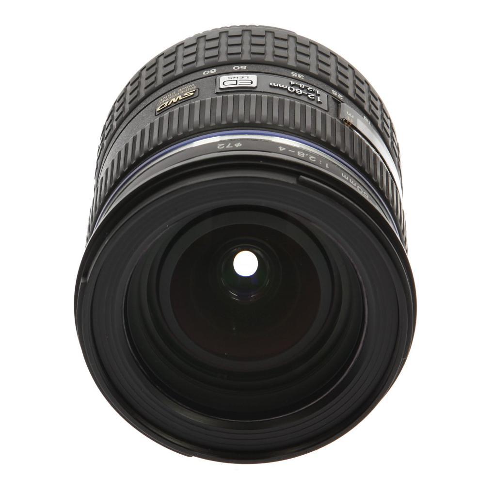 Olympus Zuiko 12-60mm f2.8-4.0 SWD ED Objektiv Schwarz