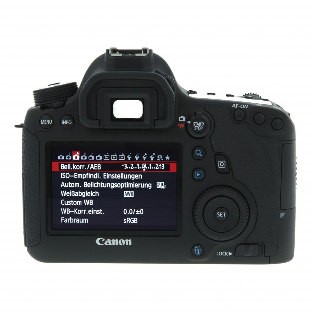 Canon EOS 6D Schwarz