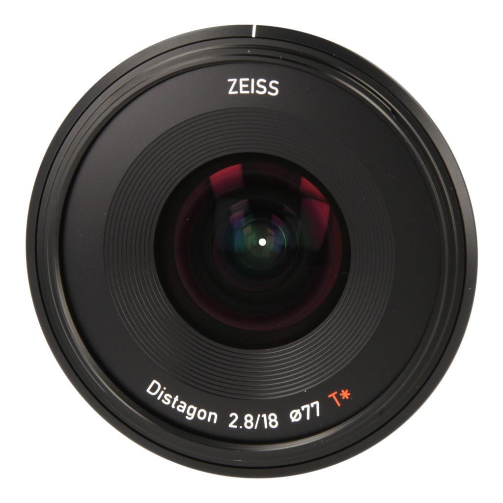 Zeiss Batis 2.8/18 mit Sony E Mount Schwarz