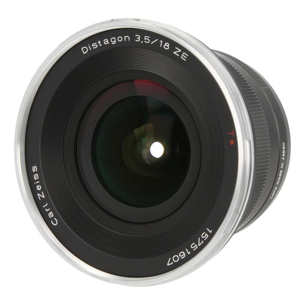 Zeiss Distagon T* 3.5/18 ZE mit Canon EF Mount Schwarz