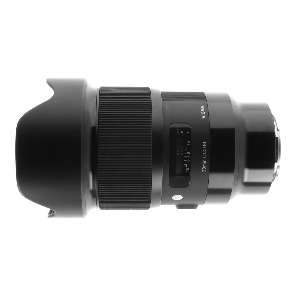 Sigma 20mm 1:1.4 Art AF DG HSM für Sony E schwarz
