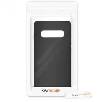 kwmobile Soft Case für Samsung Galaxy S10 Plus (47455.47) schwarz matt