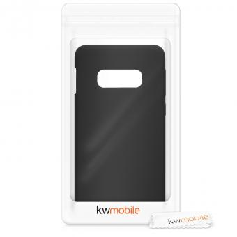 kwmobile Soft Case für Samsung Galaxy S10e (47574.47) schwarz matt